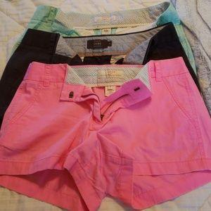 Bundle of J Crew shorts